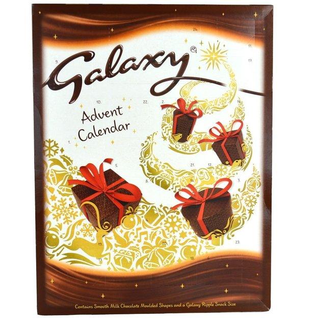 Galaxy Advent Calendar 111g At Mighty Ape Nz