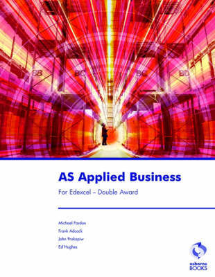 AS Applied Business for Edexcel - Double Award by Michael Fardon image