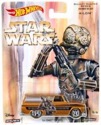 Hot Wheels: Star Wars Character Car - 4-Lom