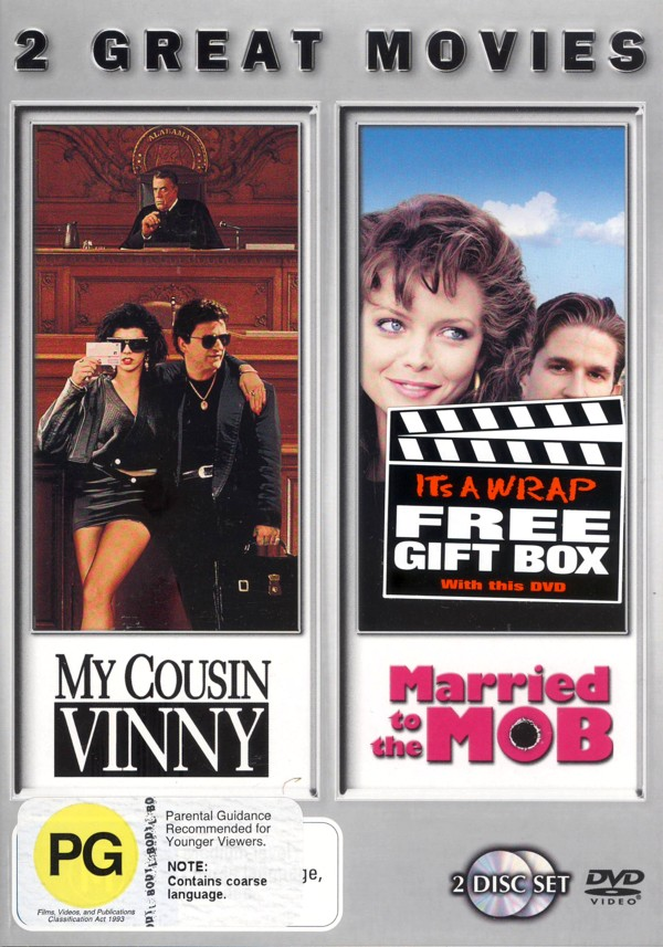 My Cousin Vinny / Married To The Mob on DVD image