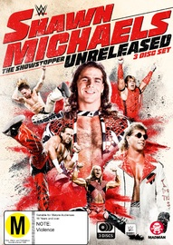 WWE: Shawn Michaels - The Showstopper Unreleased on DVD image