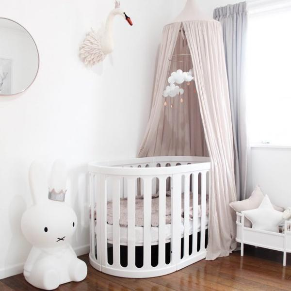 Kaylula Sova 4 in 1 Cot Bed (White) image