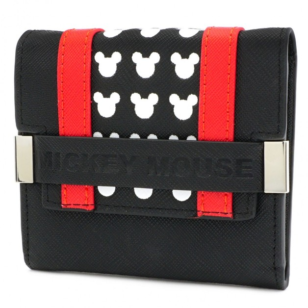 Loungefly: Mickey Mouse - Red Stripe Wallet