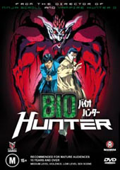 Biohunter on DVD