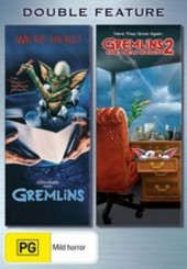 Gremlins / Gremlins 2: The New Batch - Double Feature (2 Disc Set) on DVD