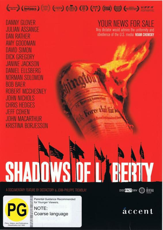 Shadows of Liberty DVD