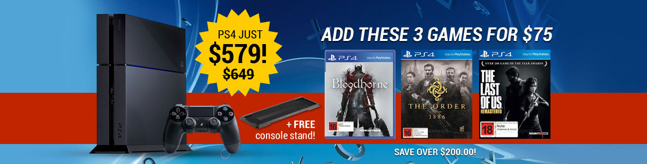Hot deal on PS4!
