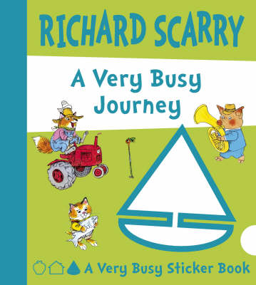 A Very Busy Journey by Richard Scarry image