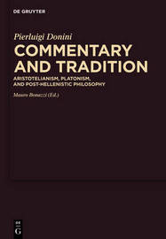 Commentary and Tradition by Pierluigi Donini image