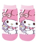 My Melody: Pink x Pink Socks