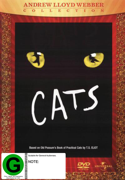 Cats - The Musical on DVD image