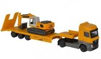 Majorette: Construction Playset - (Excavator)