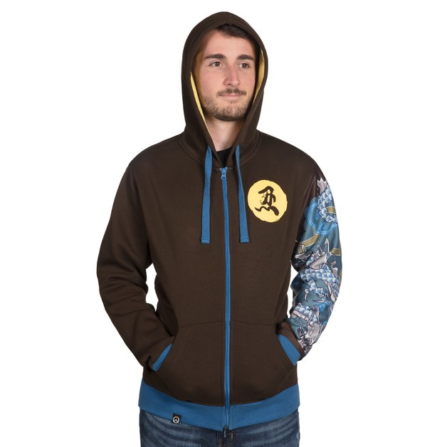 Overwatch Ultimate Hanzo Zip-Up Hoodie (L)