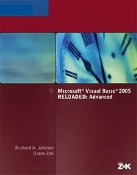 Microsoft Visual Basic 2005: Reloaded: Advanced by Diane Zak image