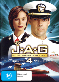 JAG: Judge Advocate General - The 4th Season on DVD image