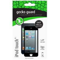 Gecko Bubble Free Screen Guard for iPod Touch 5 - Black