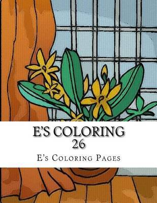 E's Coloring 26 by E's Coloring Pages image