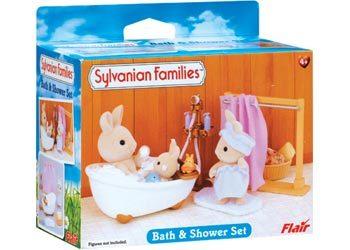 Sylvanian Families: Bath & Shower Set image