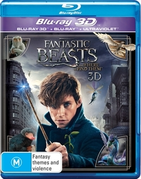 Fantastic Beasts and Where to Find Them (3D + 2D Blu-ray + UV) DVD