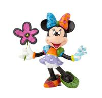 Romero Britto: Minnie Mouse With Flowers Figurine