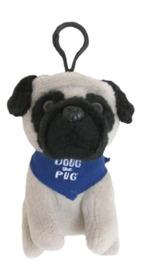 Doug The Pug: Backpack Clip (Blue)
