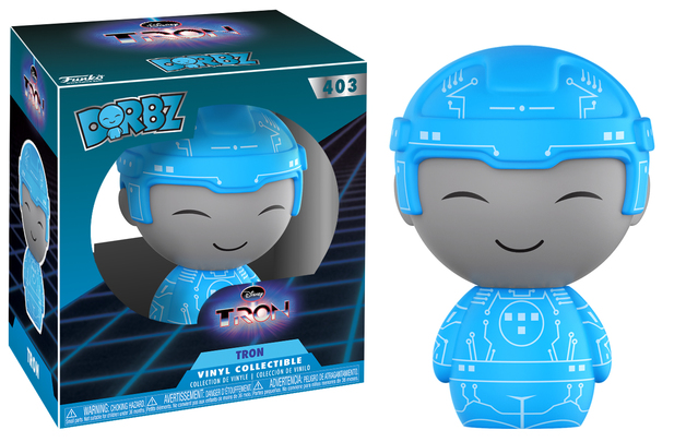 Tron - Dorbz Vinyl Figure (with a chance for a Chase version!)