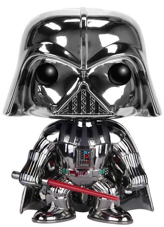 Star Wars - Darth Vader (Chrome) Pop! Vinyl Figure