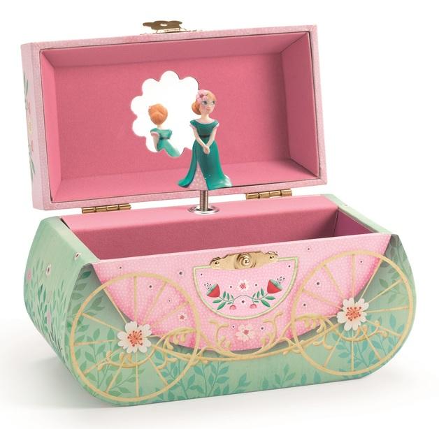 Djeco: Musical Treasure Box - Carriage Ride