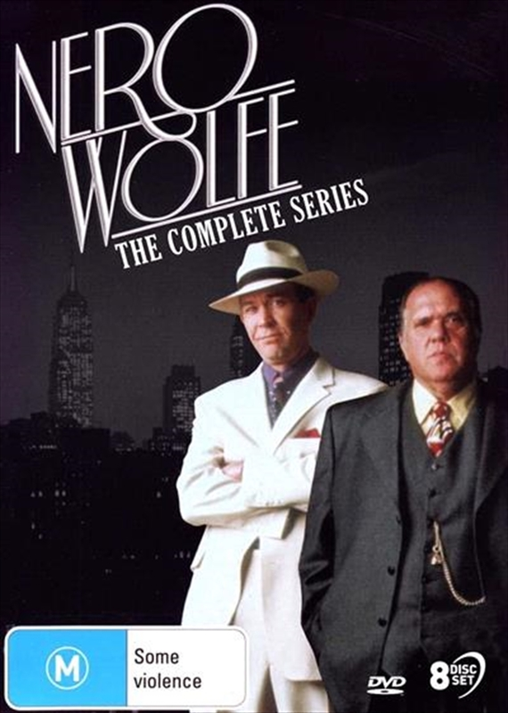 Nero Wolfe: The Complete Series on DVD