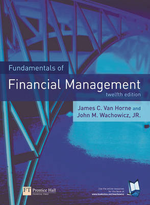 Fundamentals of Financial Management by James C. Horne, van image