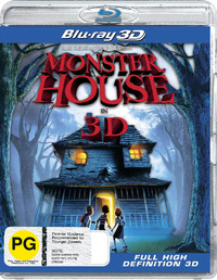 Monster House - 3D on Blu-ray, 3D Blu-ray