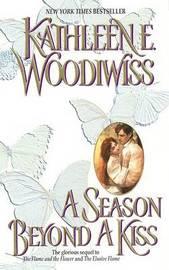 A Season Beyond a Kiss by Kathleen E Woodiwiss image