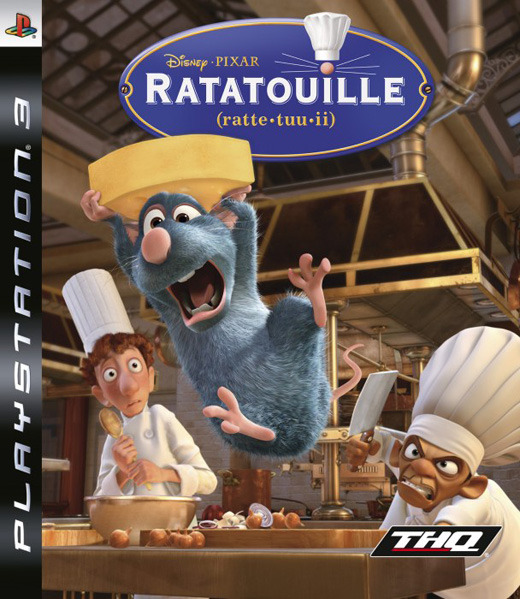 Ratatouille for PS3