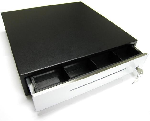 E-913 Cash Drawer Extra Heavy Duty 24V Black