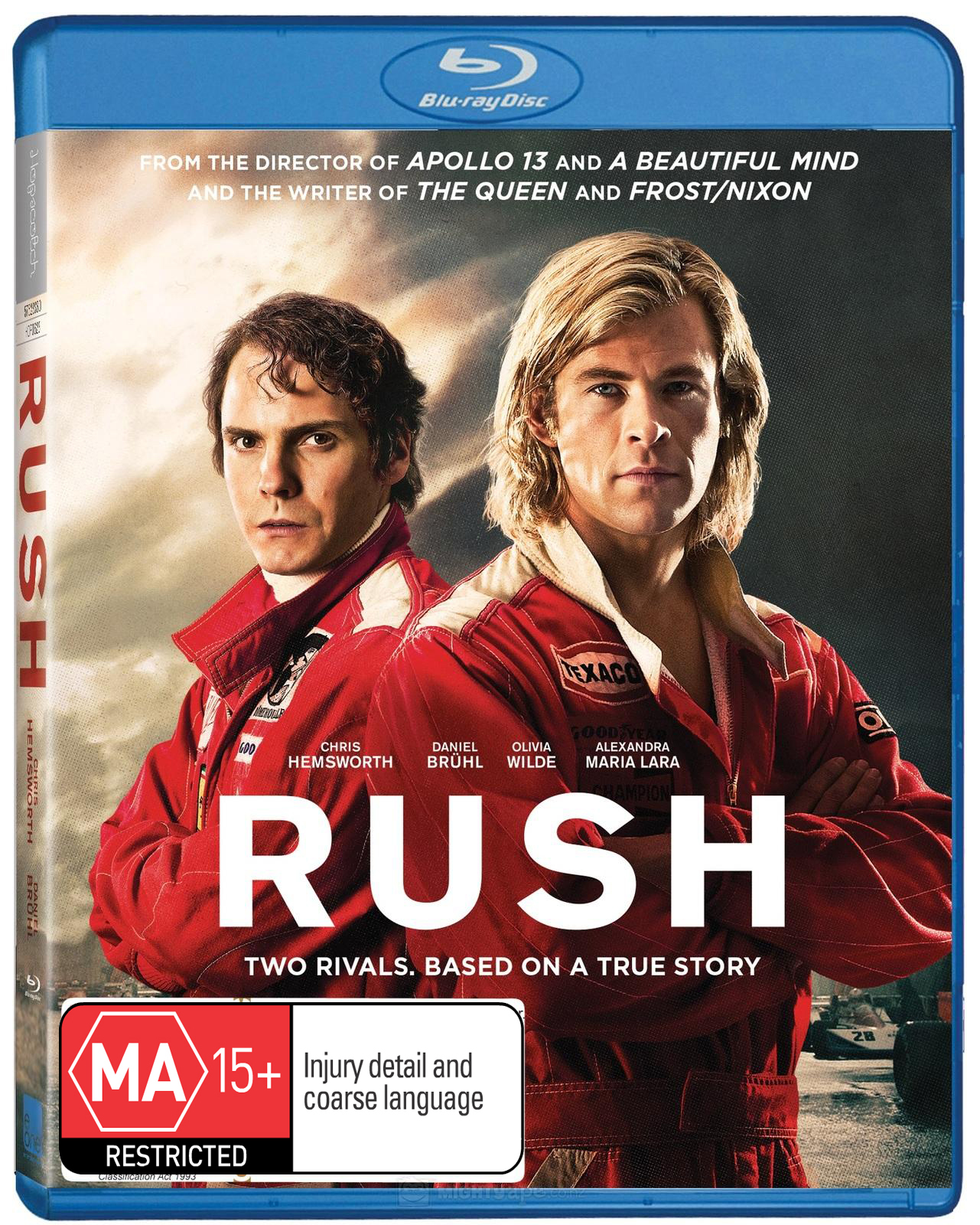Rush on Blu-ray image