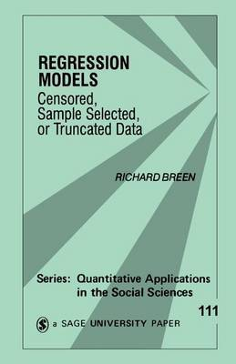Regression Models by Richard Breen image