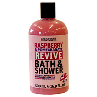 Creightons Bath & Shower - Raspberry & Pomegranate (500ml)