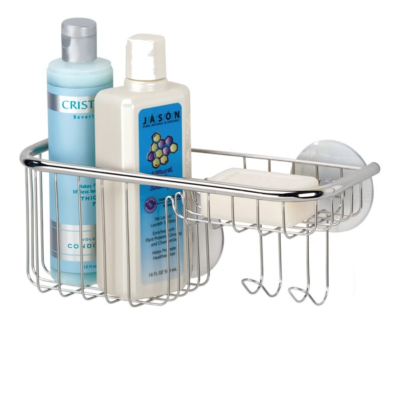 Interdesign Forma Suction Combo Basket Image At Mighty Ape