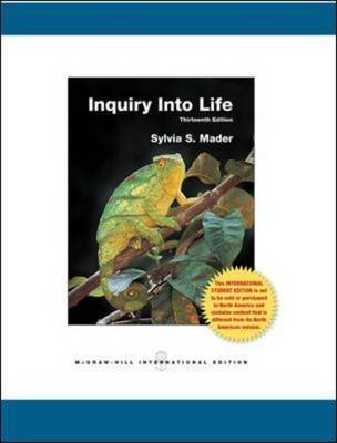 Inquiry into Life by Sylvia S Mader image