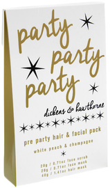 Organik Botanik - Pre Party Hair & Facial Treatment Pack (White Peach & Champagne)