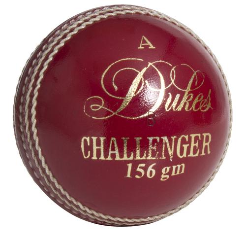 Dukes Quality Leather Hand Sewn Club Match A 5.5oz Cricket Ball