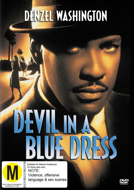 Devil in a blue dress sex scene