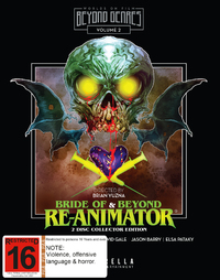 Bride of Re-Animator / Beyond Re-Animator on Blu-ray image