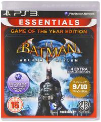 Batman: Arkham Asylum Game of the Year Edition (PS3 Essentials) for PS3