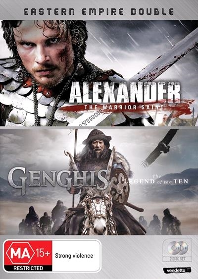 Eastern Empire Double (Genghis & Alexander) on DVD
