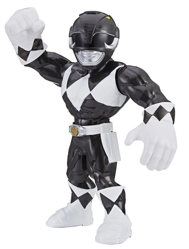 """Playskool Heroes: Mega Mighties - Black Ranger 10"""" Figure"""