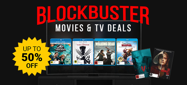 Hot Movie & TV Deals! Up to 50% off!