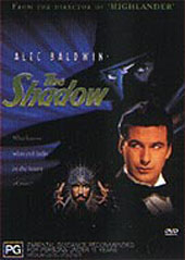 The Shadow on DVD