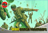 Airfix WWII British Paratroopers 1:72 Scale