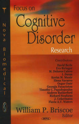 Focus on Cognitive Disorder Research